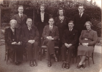 Deacons of Hearsall Baptist in 1938
