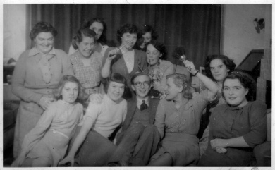 Hearsall house group in the 1950's